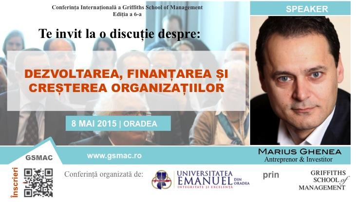 Marius Ghenea - GSMAC Invitation